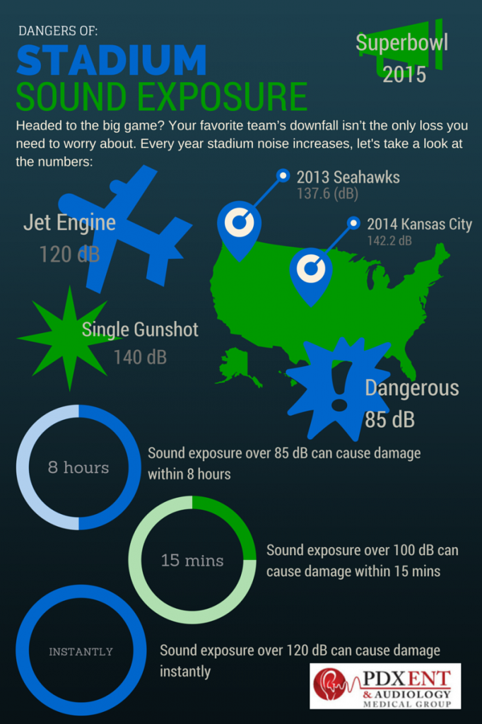 Superbowl 2015 Noise Infographic