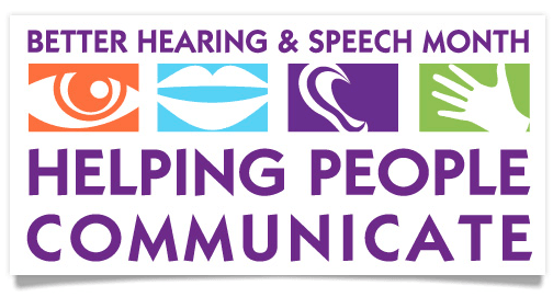 May is better hearing speech month